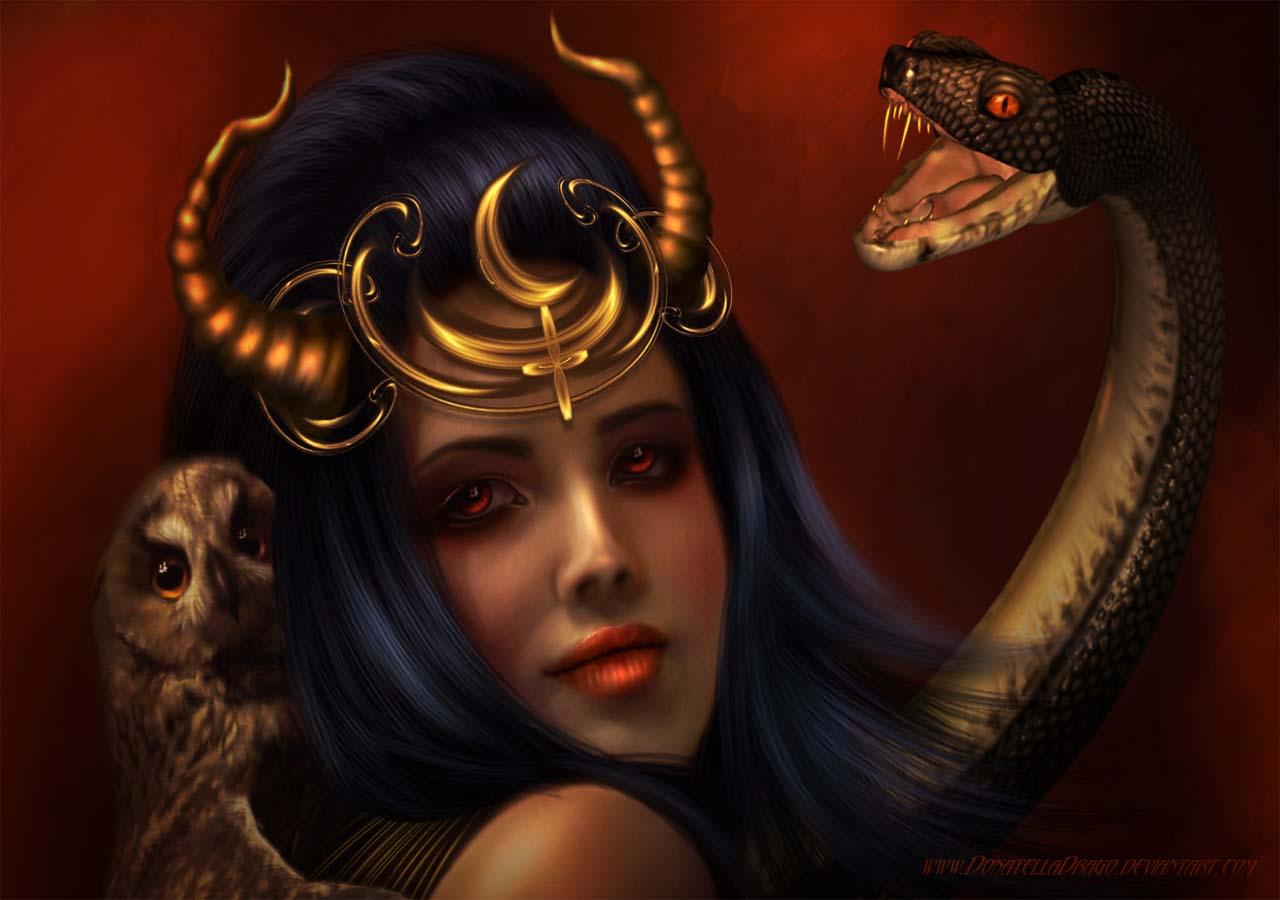 Origen de los vampiros Lilith