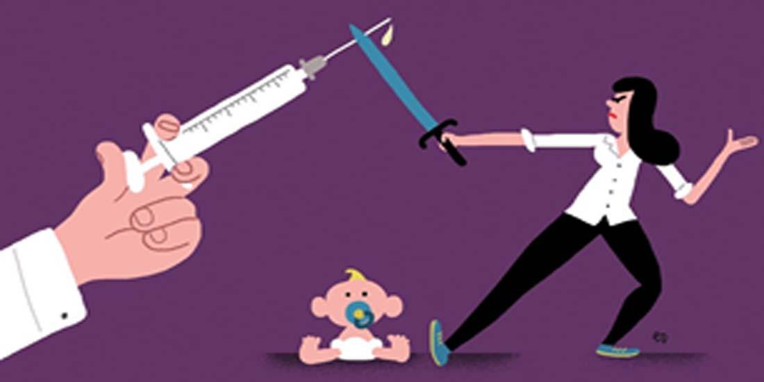 El riesgo de las anti vacunas