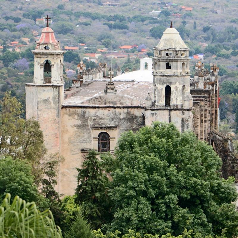 Tepoztlán Morelos ex convento