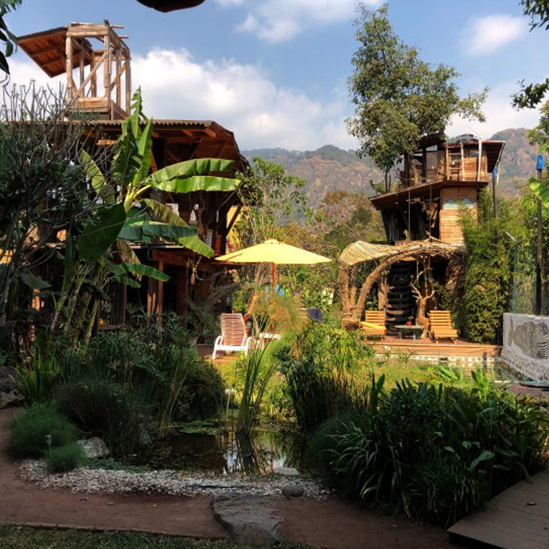 Tepoztlán Morelos horus santuario holístico