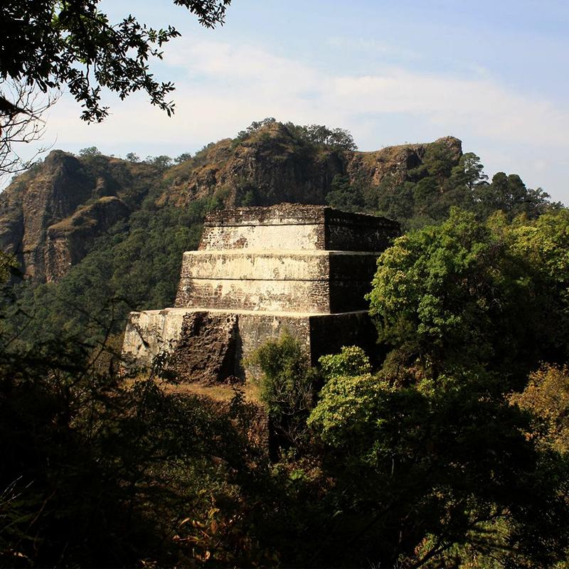 Tepoztlán Morelos pirámide del tepozteco