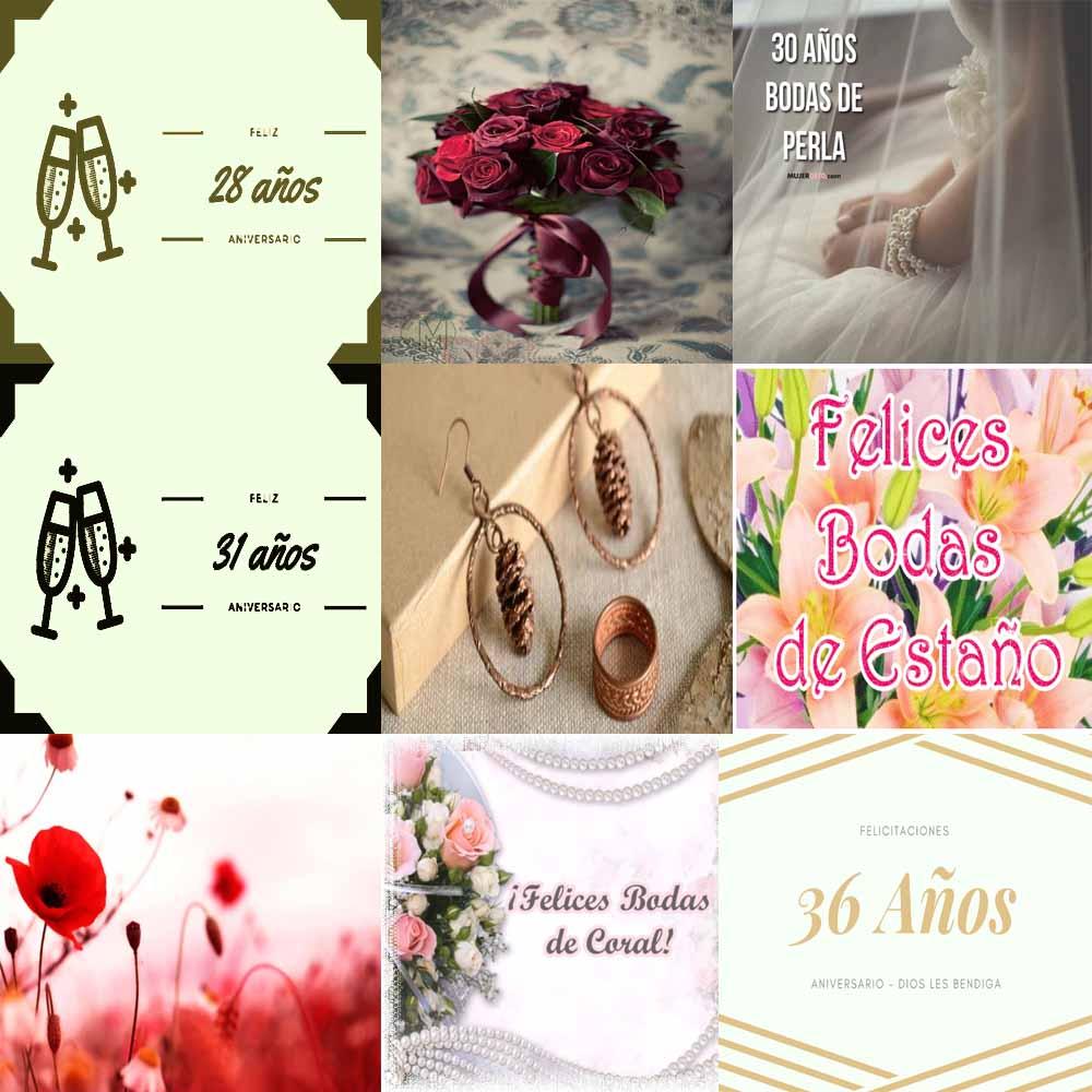 Aniversario de bodas 28