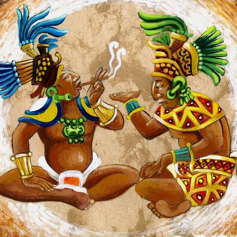 viajero en el tiempo maya 1