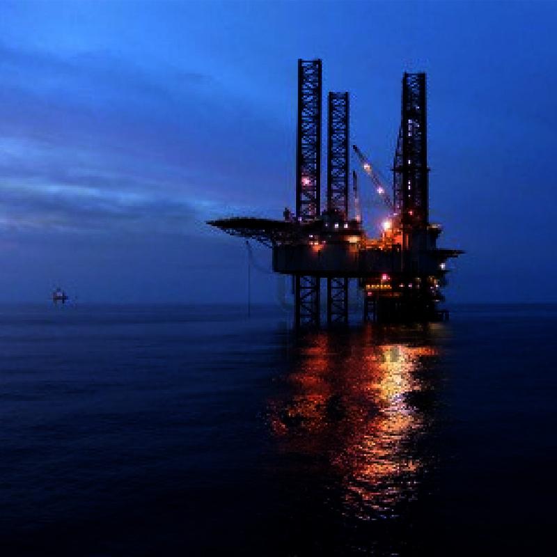 Combustible nuclear plataforma de petróleo