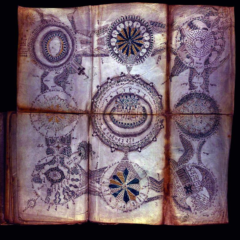 El manuscrito de Voynich conexiones