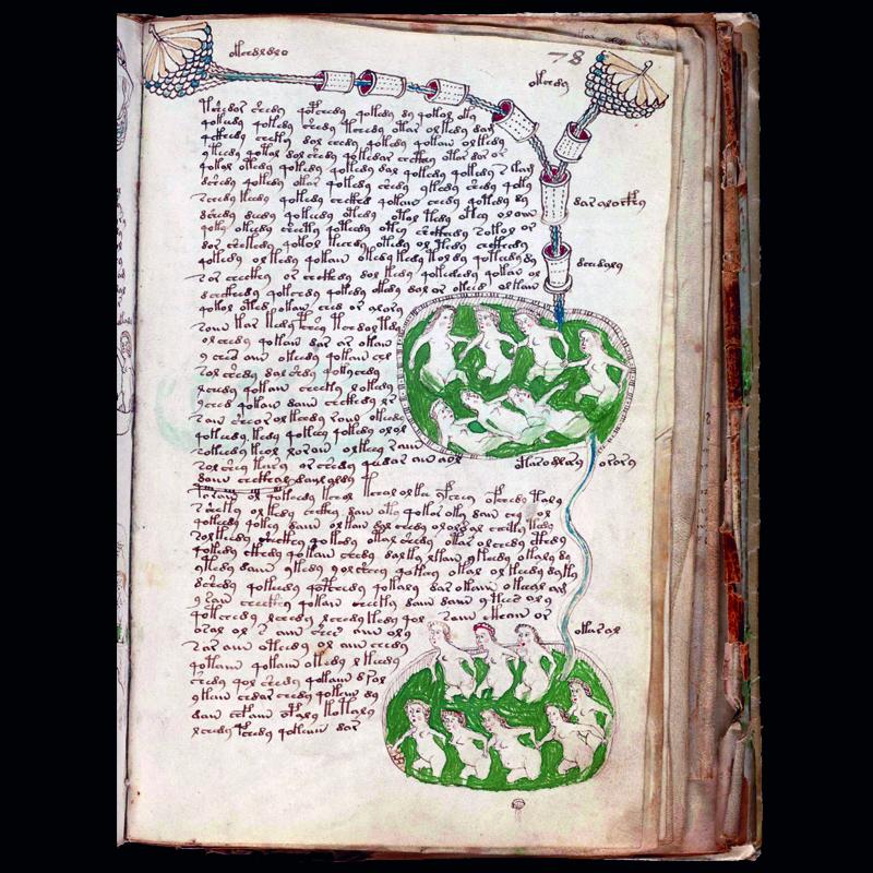 El manuscrito de Voynich fuente de la eterna juventud