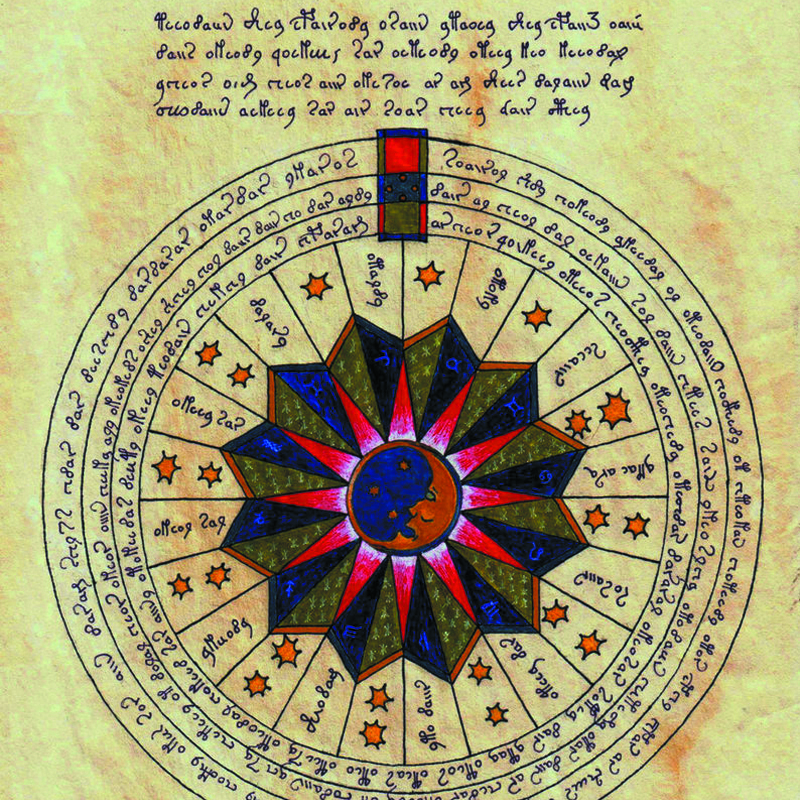 El manuscrito de Voynich calendario