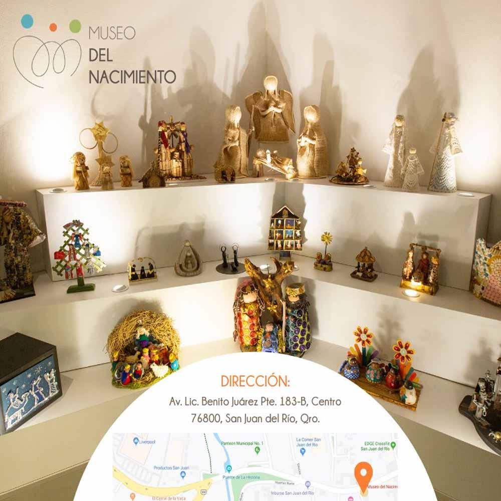 SAN JUAN DEL RIO museo del nacimiento