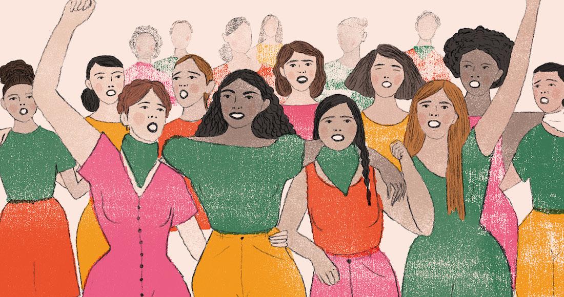 Todas las mujeres deberíamos ser feministas. La violencia de género SÍ existe.
