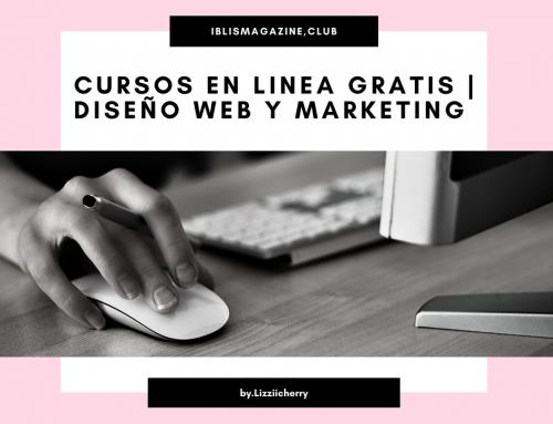 CURSOS EN LÍNEA GRATIS | DISEÑO Y MARKETING