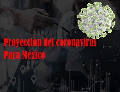 Proyección matemática del coronavirus, para el caso México