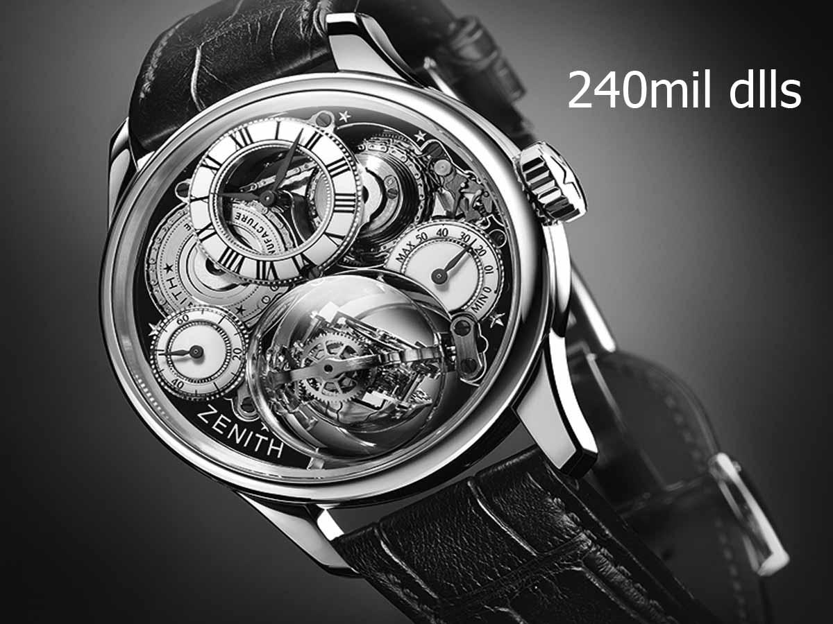 Relojes de lujo grandes complicaciones