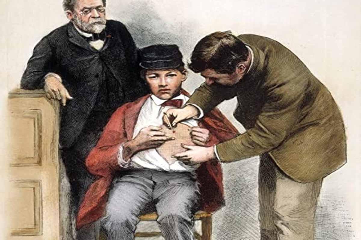 La vacuna contra la rabia