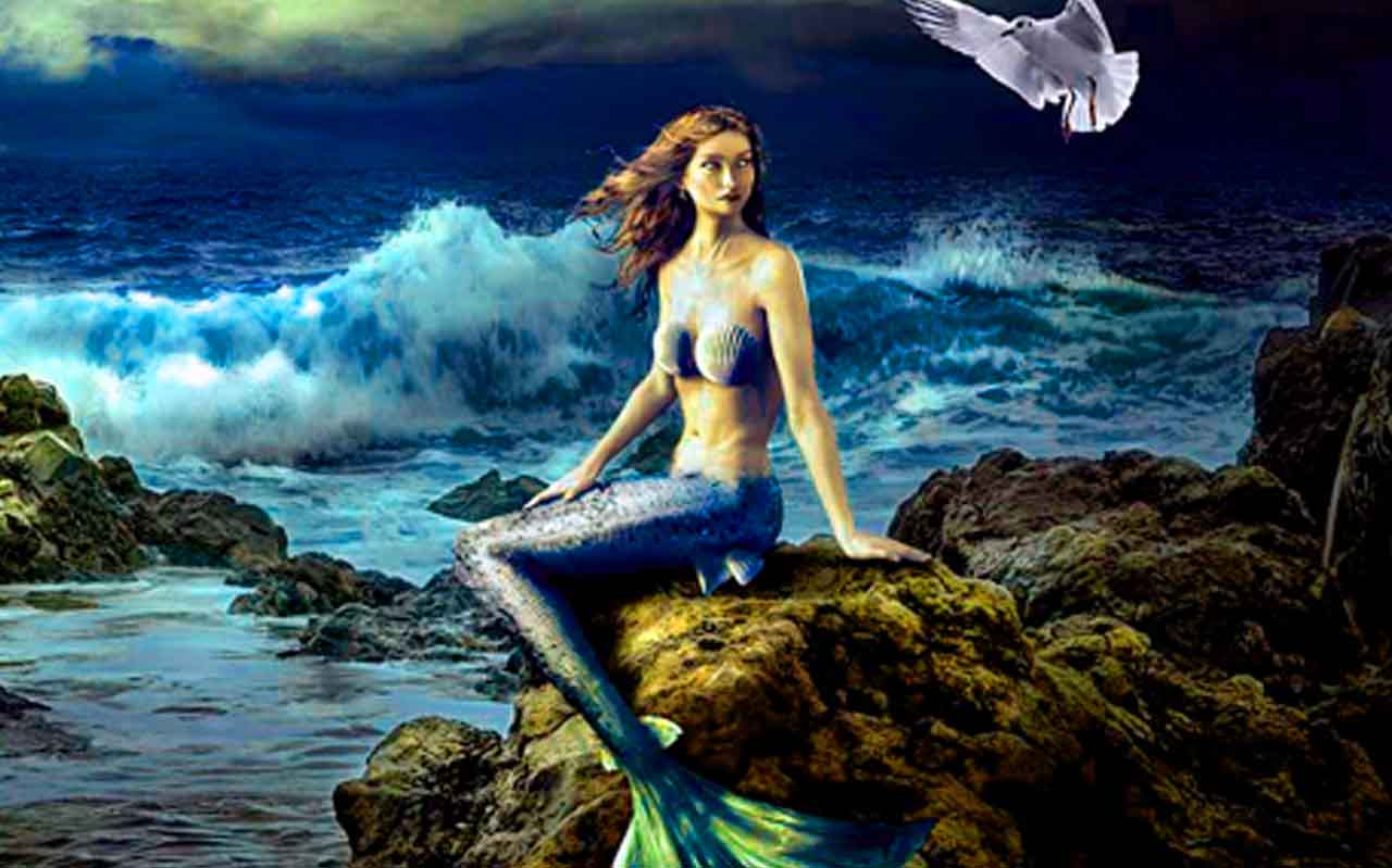 Seres mitológicos majestuosos