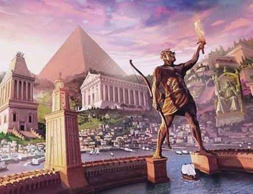 Maravillas del mundo antiguo y torneo por ser la más majestuosa.