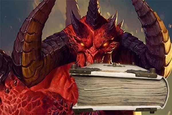 La biblia del diablo.
