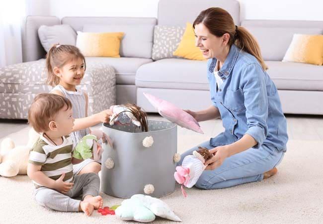 Deberes de los niños en el hogar